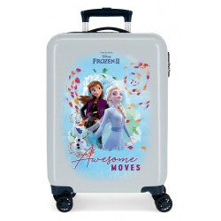 Maleta de Cabina Frozen Awesome Moves rígida 55cm