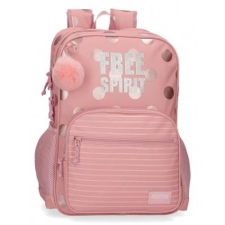 Mochila Movom Free Spirit Doble Compartimento Adaptable
