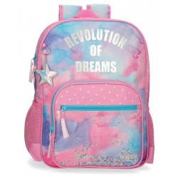 Mochila 42cm adaptable Movom Revolution Dreams