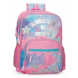 Mochila Movom Revolution Dreams Doble Compartimento Adaptable