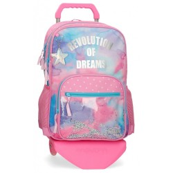 Mochila Movom Revolution Dreams Doble Compartimento con Carro