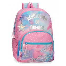 Mochila Escolar Movom Revolution Dreams Adaptable
