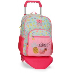 Mochila Escolar Enso Juicy Fruits con Carro