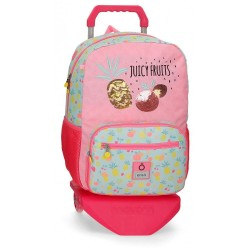 Mochila Portaordenador Enso Juicy Fruits con Carro