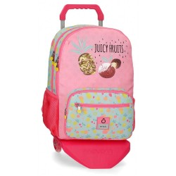 Mochila Enso Juicy Fruits Doble Compartimento con Carro
