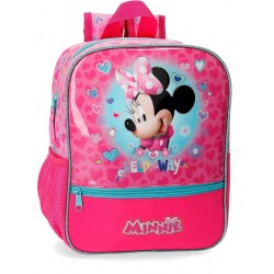Mochila Minnie Help 28cm adaptable a carro