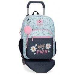 Mochila Escolar Enso Girl Power con Carro