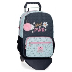 Mochila Portaordenador Enso Girl Power con Carro