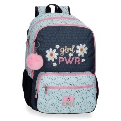 Mochila Enso Girl Power Doble Compartimento Adaptable
