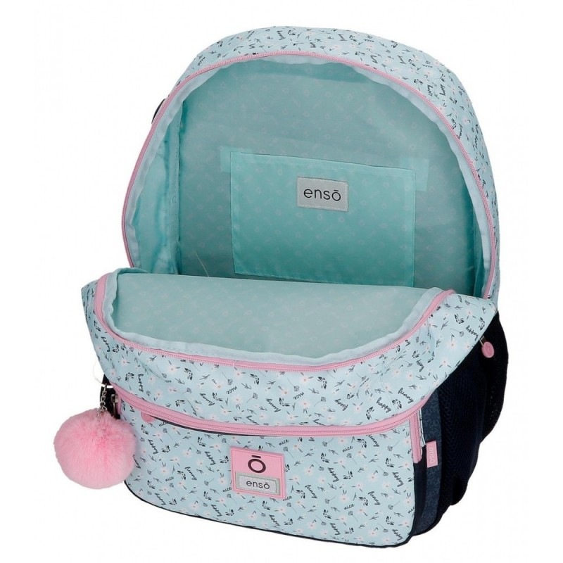 Mochila Enso Girl Power Doble Compartimento con Carro