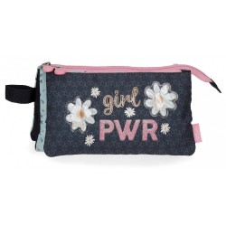 Estuche Enso Girl Power Tres Compartimentos