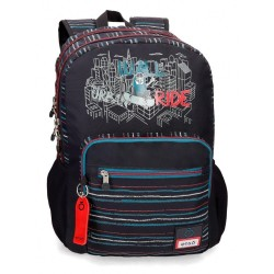 Mochila Enso Wall Ride Doble Compartimento Adaptable