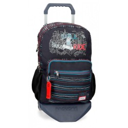 Mochila Enso Wall Ride Doble Compartimento con Carro