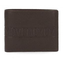 Cartera Movom Ribbon horizontal con monedero Marrón