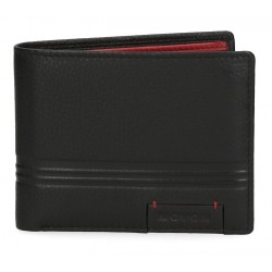 Cartera Movom Tablet horizontal con monedero Negra