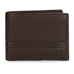 Cartera Movom Tablet horizontal con monedero Marrón