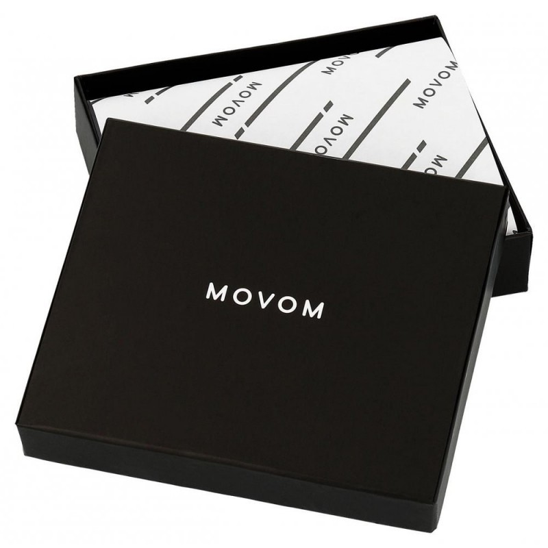 Cartera Movom Rectangle horizontal con monedero Marrón