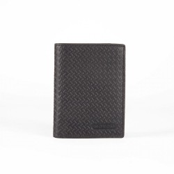 Cartera Movom Steel vertical con monedero Negra