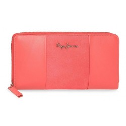 Cartera Pepe Jeans Double Coral