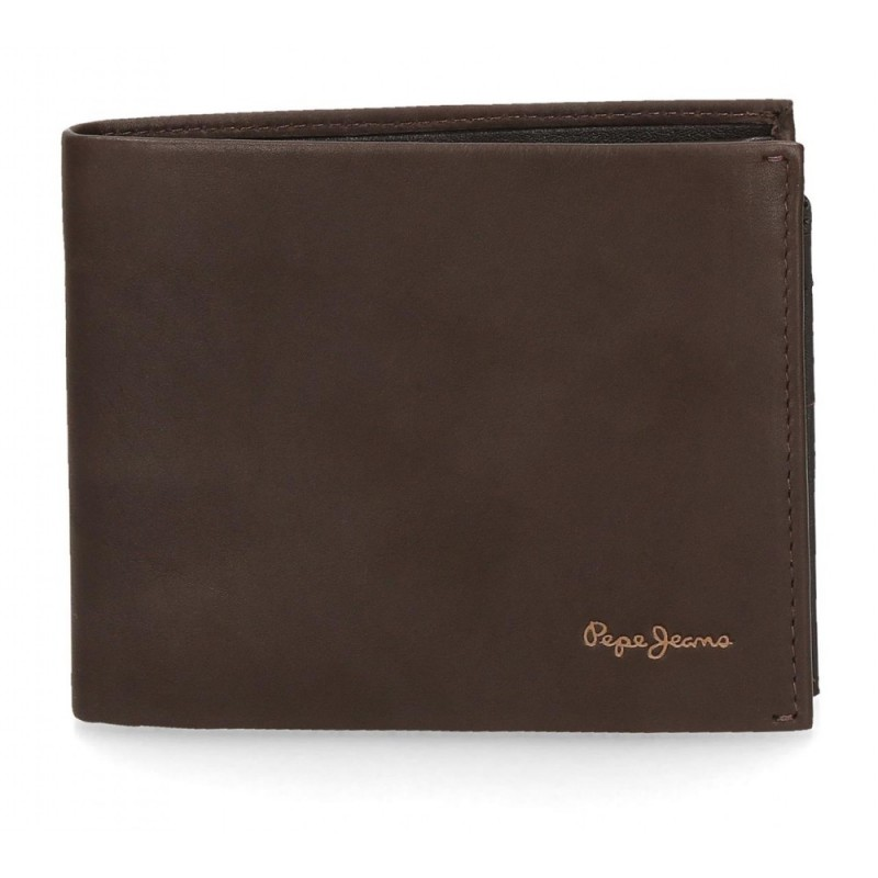 Cartera Pepe Jeans Fair horizontal grande Marrón