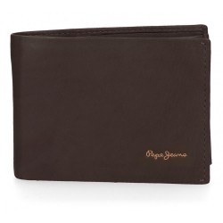 Cartera Pepe Jeans Fair horizontal Marrón