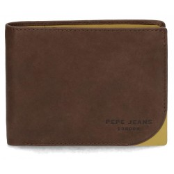 Cartera Pepe Jeans Arrow horizontal Marrón