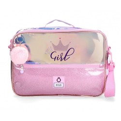 Cartera Escolar Enso Super girl