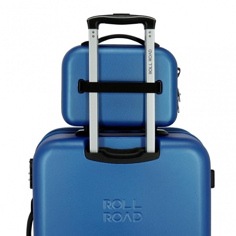 Neceser ABS Roll Road India Adaptable Azul