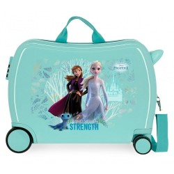 Maleta Infantil Frozen Find Your Strenght con 2 ruedas multidireccionales