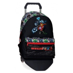 Mochila Avengers Armour Up con Carro