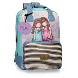"Mochila Gorjuss para Portátil 15,6"" Friends Walk Together"