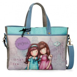 Bolso Gorjuss para portátil Friends Walk Together