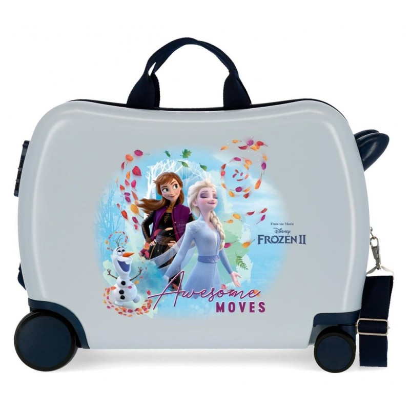 Maleta Infantil Frozen Awesome Moves con 2 ruedas multidireccionales