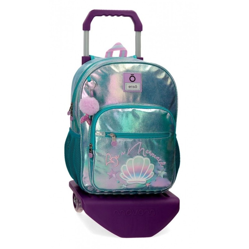 Mochila Enso Be a Mermaid con Carro