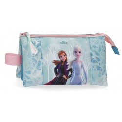 Estuche Frozen Find Your Strenght Tres Compartimentos