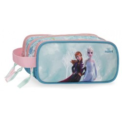 Estuche Frozen Find Your Strenght Triple Cremallera