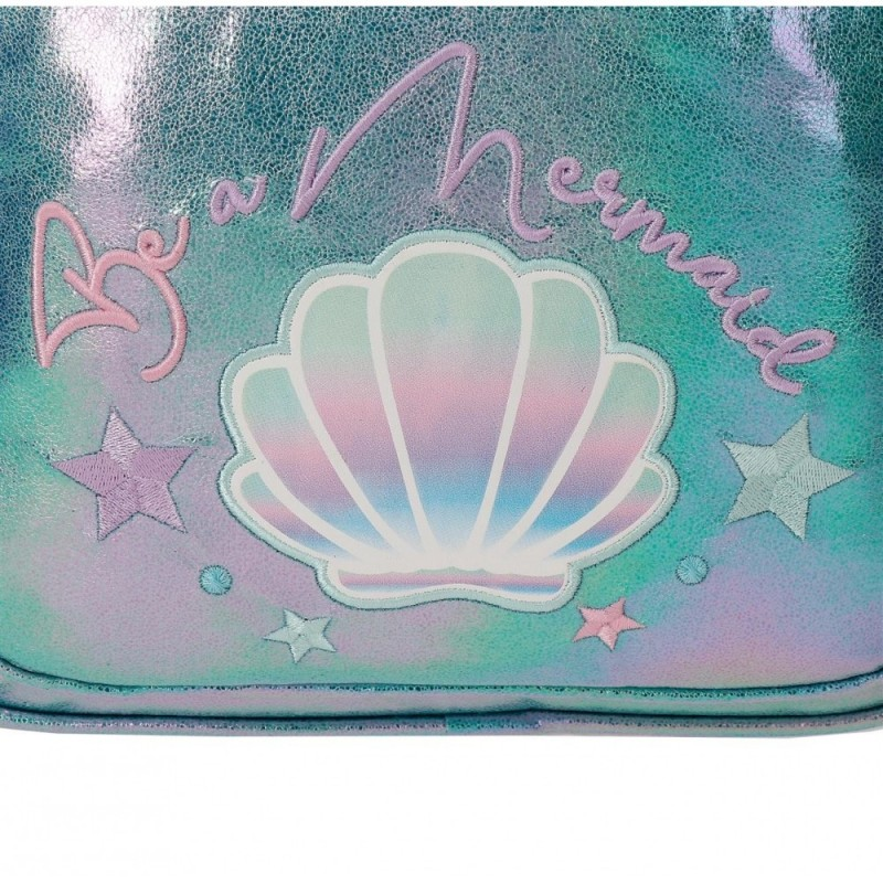 Mochila Enso Be a Mermaid Doble Compartimento Adaptable