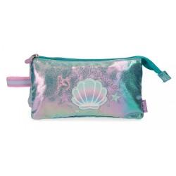 Estuche Enso Be a Mermaid Tres Compartimentos