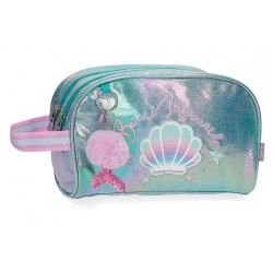 Neceser Enso Be a Mermaid Doble Compartimento