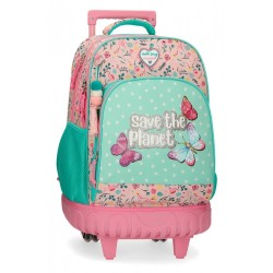 Mochila 2 ruedas Movom Save the Planet