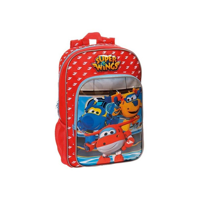 Mochila Super Wings Control 38cm adaptable