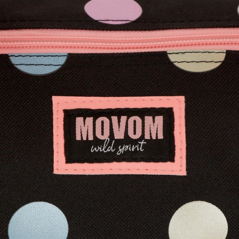 Mochila Movom Free Dots Doble Compartimento Adaptable