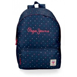 Mochila Escolar Pepe Jeans Molly Adaptable