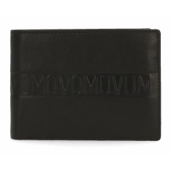Billetero Movom Ribbon negro