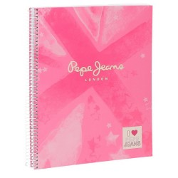 Cuaderno Pepe Jeans Clea